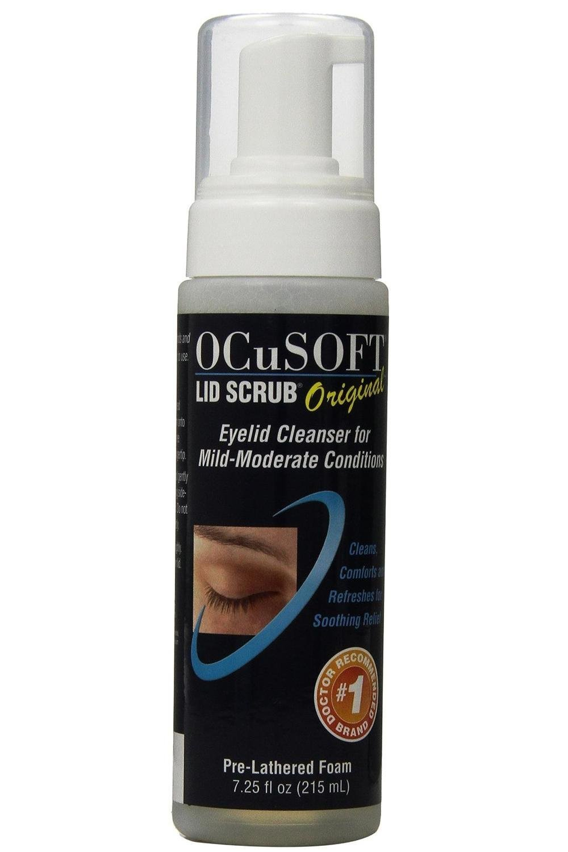 Ocusoft Lid Scrub Foaming Eyelid Cleanser, 7.25 fl oz Pack of 3