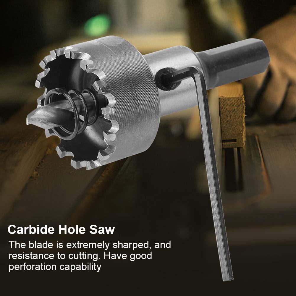 para trabajos de metal Sierra de corona de metal duro 6 unidades metal duro multidentado 16 30 mm