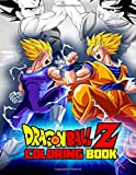 Dragon Ball Z Coloring Book: Great 39 Illustrations for Kids