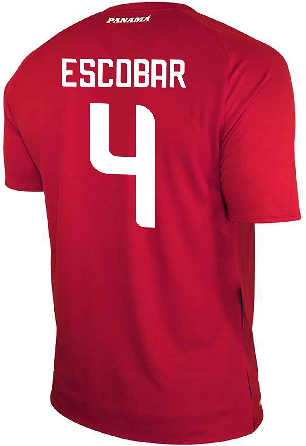 New Balance Escobar #4 Panama Home Soccer Men's Jersey FIFA World Cup Russia 2018