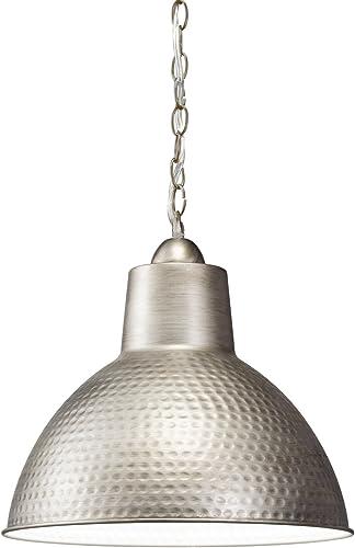 Kichler 78200AP Missoula Pendant, 1 Light Incandescent 100 Watts, Antique Pewter