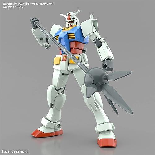 ENTRY GRADE 機動戦士ガンダム RX-78-2 ガンダム(フルウェポンセット) 1/144スケール 色分け済みプラモデル