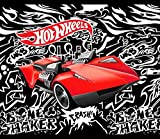 Hot Wheels Fast Car No-Sew Throw Anti-Pill Fleece Fabric Kit