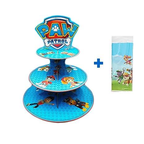 Amazon.com: GEORLD - Soporte para cupcakes con diseño de la ...