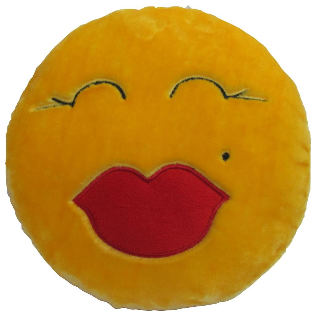 Buy Tickles Stuffed Soft Hugging Smiley Cushion Toy Pillow Car 33 Cm