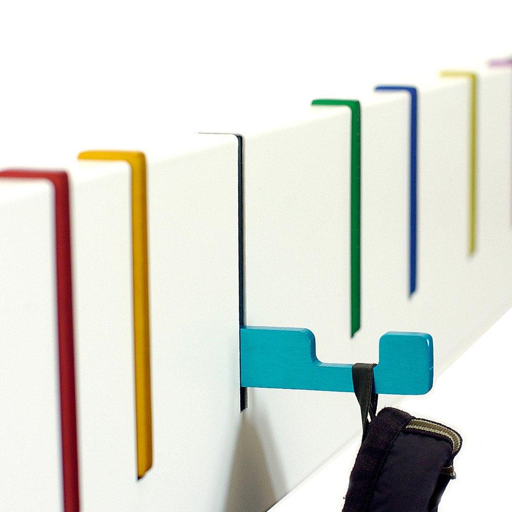 Amazon symbol coat rack finish multi color home kitchen buycottarizona