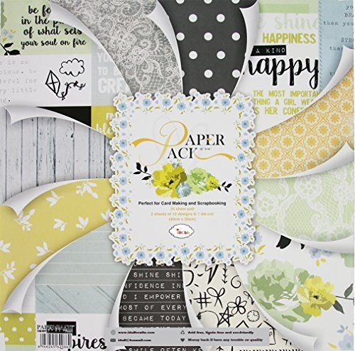 (IDULL 12x12 Scrapbook Paper Cardstock for Scrapbooking and Card)
