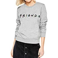 AEURPLT Womens Teen Girls Friends TV Show Hoodies Fall Winter Crewneck Sweatshirts Fleece Pullover Tops