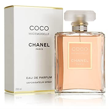7b5b58fbe3 Amazon.com : CHANEL Coco Mademoiselle Eau de Parfums Spray, 6.8 Ounce :  Beauty