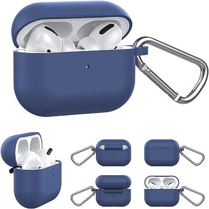 Amazon Com Ddj Airpods Pro Case 360 Full Coverage Soft