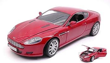 New Motormax Mtm73174r Aston Martin Db9 2005 Red 1 18 Modellino Die Cast Model Amazon De Spielzeug