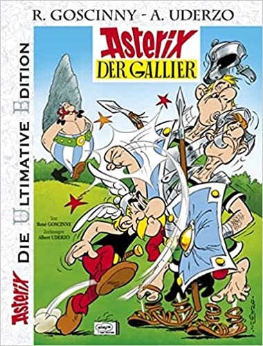 Asterix Die Ultimative Asterix Edition Band 1 Asterix Der Gallier Amazon De Goscinny Rene Uderzo Albert Penndorf Gudrun Bucher