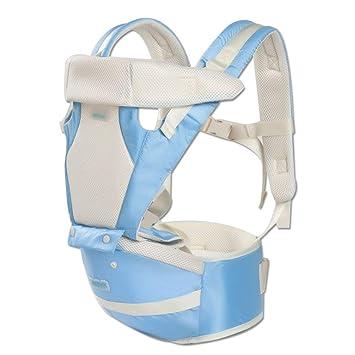 Comfot Mochila portabebés ergonómico con Asiento de Cadera, Paquete de bebé Soporte Sling Wrap Soporte de Portador para recién Nacido a niño,001: Amazon.es: ...