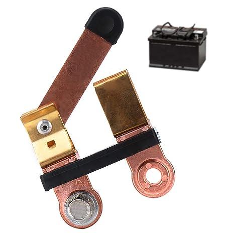 Amazon.com: Interruptor de batería de coche desconecta el ...