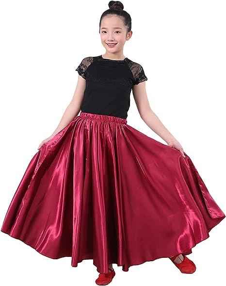 LOLANTA Gonna da Ballo per Bambina di Flamenco Multicolor da Bambina