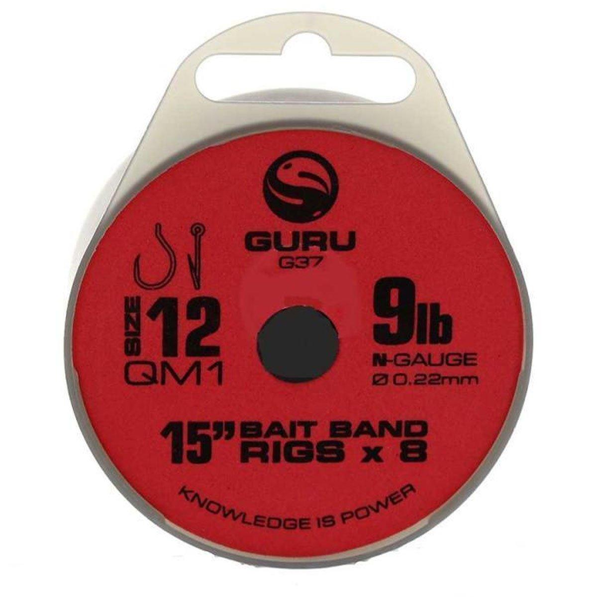 Guru QM1/Gr/ö/ße 18/bis 2,3/kg Kettlebell 38,1/cm K/öder Band Rigs X 8