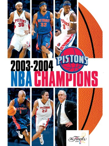 Top trend 2003-2004 NBA Champions - Detroit Pistons