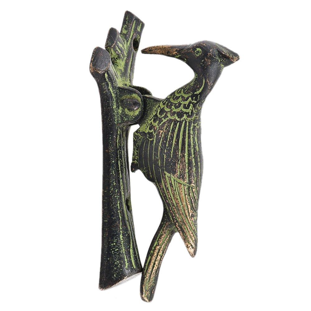 IndianShelf Handmade Woodpecker Bronze Door Knocker-1 Piece(NMH-78)
