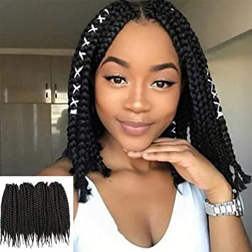 Amazon.com  12 Inch 12 Strands Synthetic Crochet Box Braids