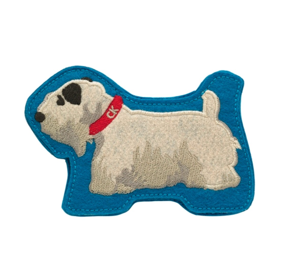 CATH KIDSTON Billie Dog Sewing Case and Needles NEW in Packet