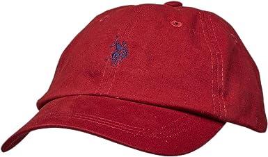 U.S.POLO ASSN. - Gorra de béisbol - para Hombre Tibetanian Red ...