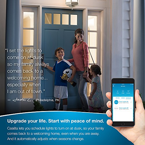 Lutron Caseta Wireless Smart Lighting Dimmer Switch (2 count) Starter Kit with pedestals for Pico remotes, P-BDG-PKG2W, Works with Amazon Alexa by Lutron (Image #1)