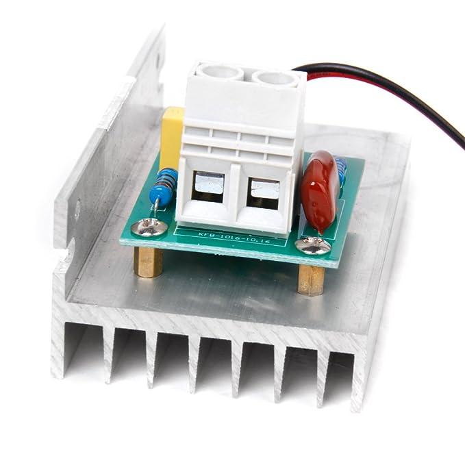 10000W AC220V SCR Voltaje Regulador Motor Velocidad Controlador Termostato: Amazon.es: Bricolaje y herramientas