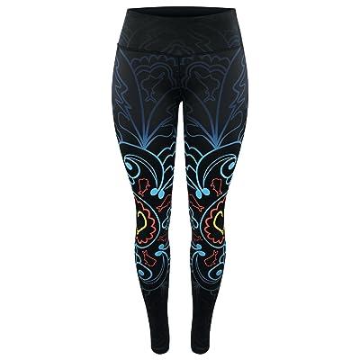 8f9ba6a62a847 Pelagic Women's Oceanflex Reversible Leggings | UPF 50+ Sun Protection |  Super Stretch Fabric