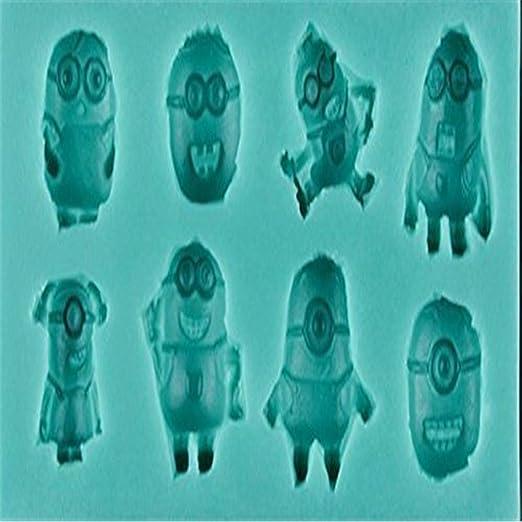 Anyana Minions - Molde de silicona para azúcar, decoración de ...