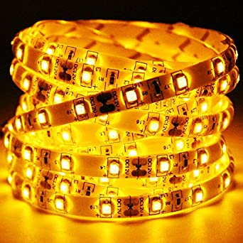 Amazon 164ft flexible waterproofip 65 amber led strip lights 164ft flexible waterproofip 65 amber led strip lights 300 leds aloadofball Choice Image