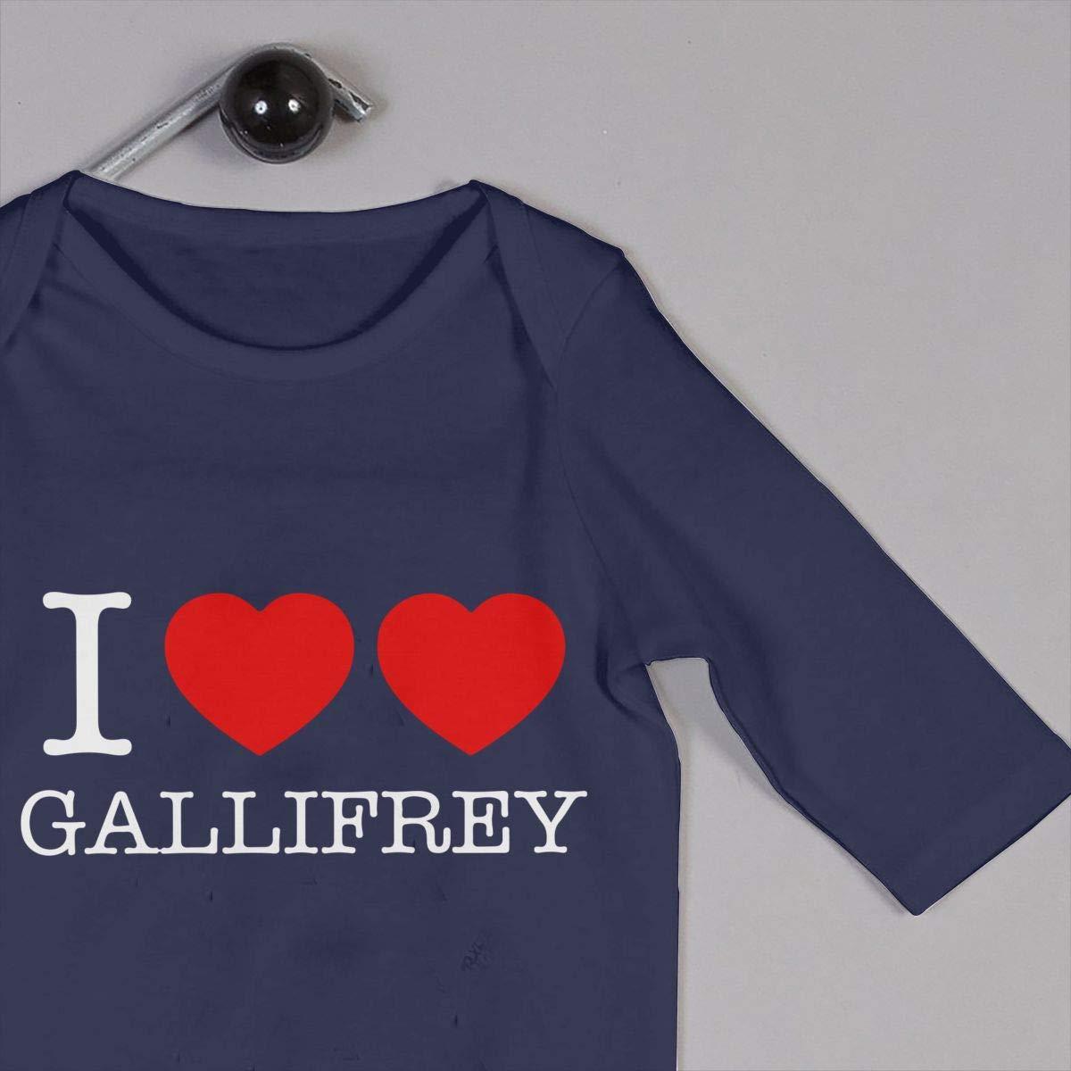 Mri-le1 Baby Boy Long Sleeve Jumpsuit I Heart Heart Gallifrey-1 Baby Clothes