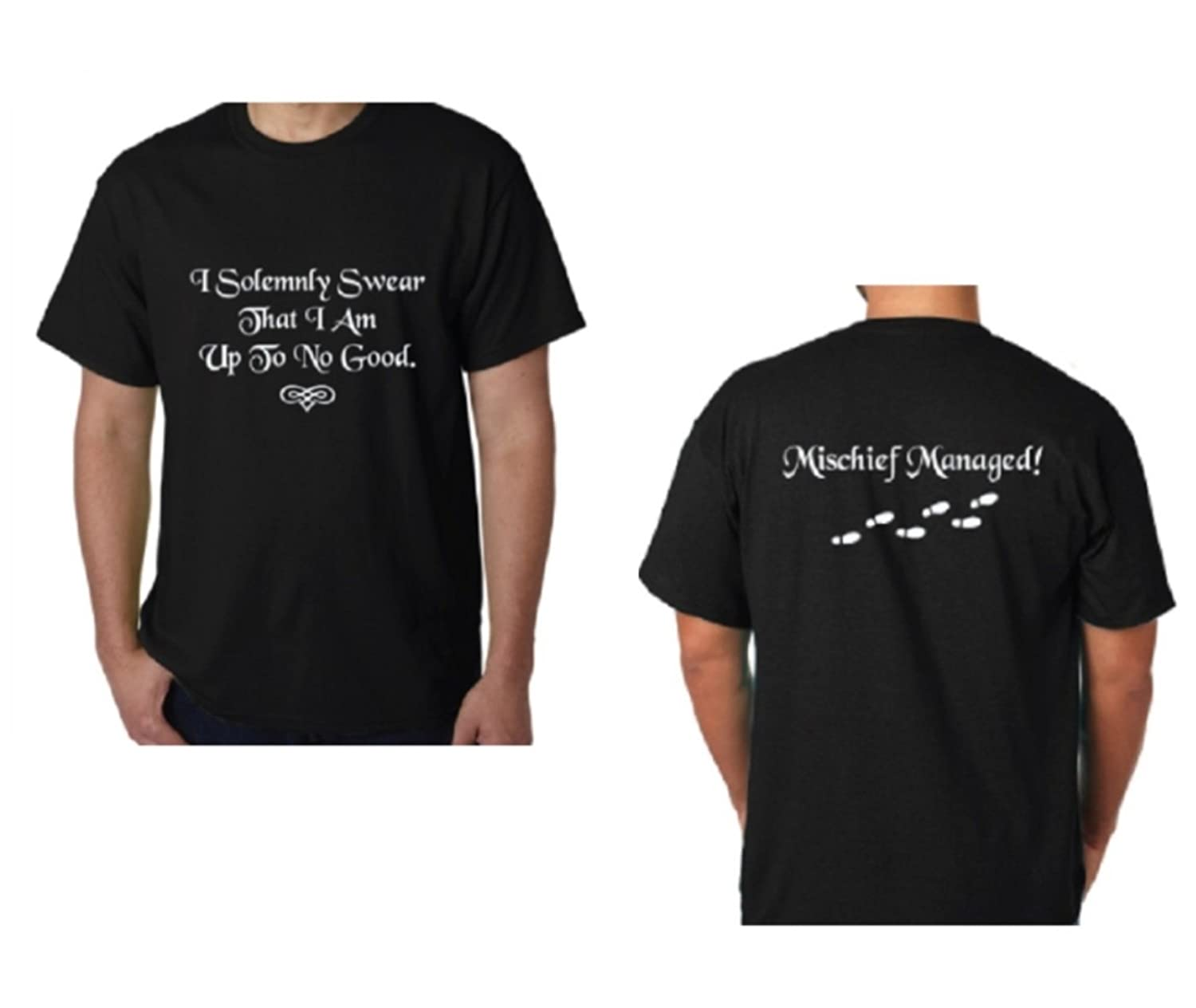 f0f930bd0 Top7: Monkeyshine Creations I Solemnly Swear That I Am up to No Good Harry  Potter Style Funny T-Shirt~Professionally Imprinted