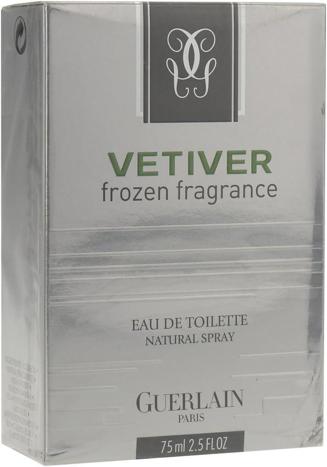 Vetiver mampara con y botella de esencia de Por el Guerlain cortinas de Toilette 75 ml: Amazon.es: Belleza