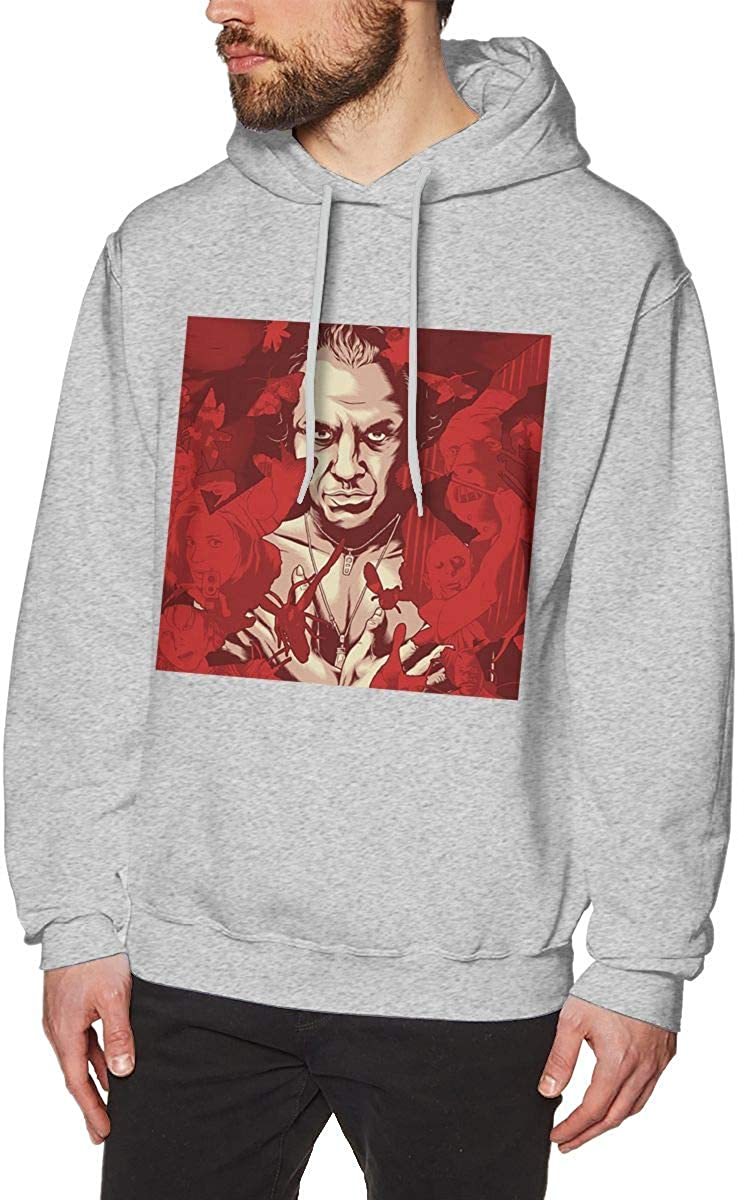 The Silence of The Lambs Cool Mens Hat and Pocketless Sweater Gray XL