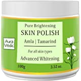 Auravedic Brightening Skin Polish with Amla Tamarind 100g
