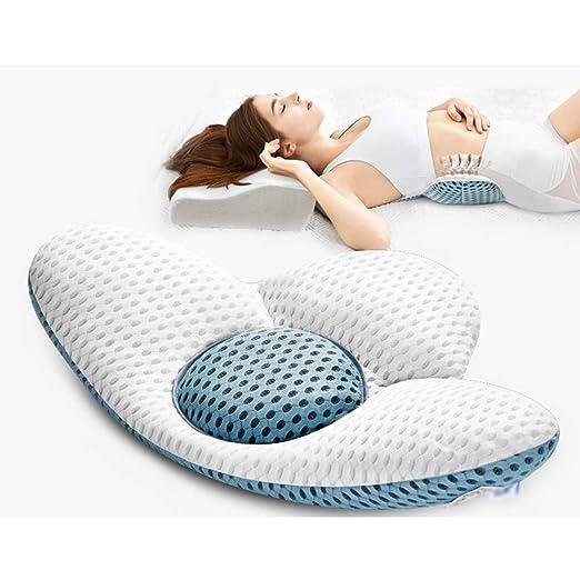 Almohada De Soporte Lumbar para Dormir, Altura Ajustable ...