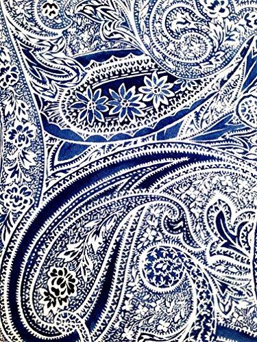 Ralph Lauren Veranda Paisley Blue Tablecloth, 70 Inch Round](Ralph Lauren Linens)