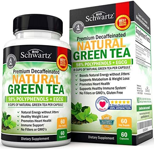 Premium Natural Green Tea Extract Capsule