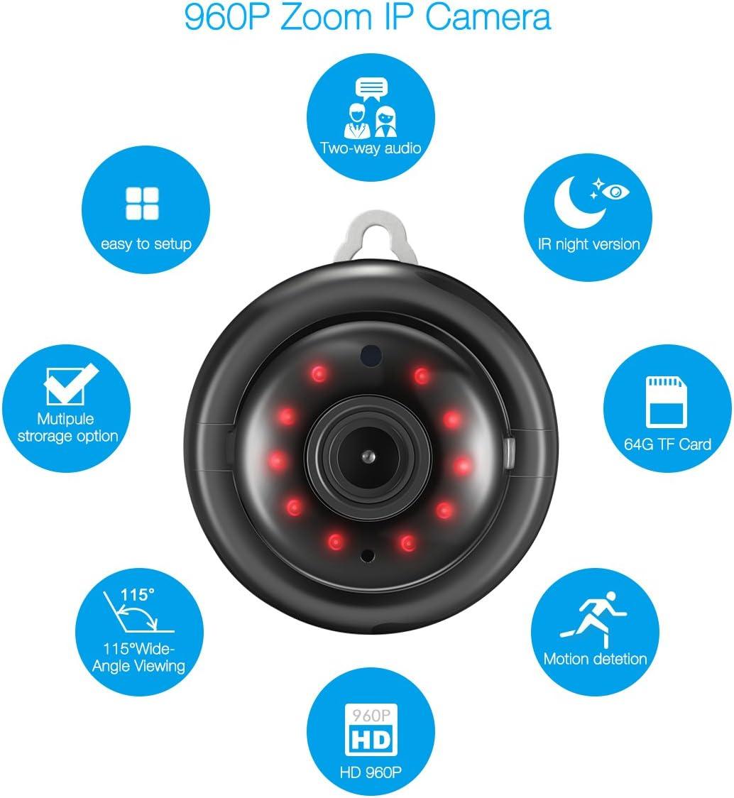 IP camera telecamera wireless wifi infrarossi motorizzata cam AX