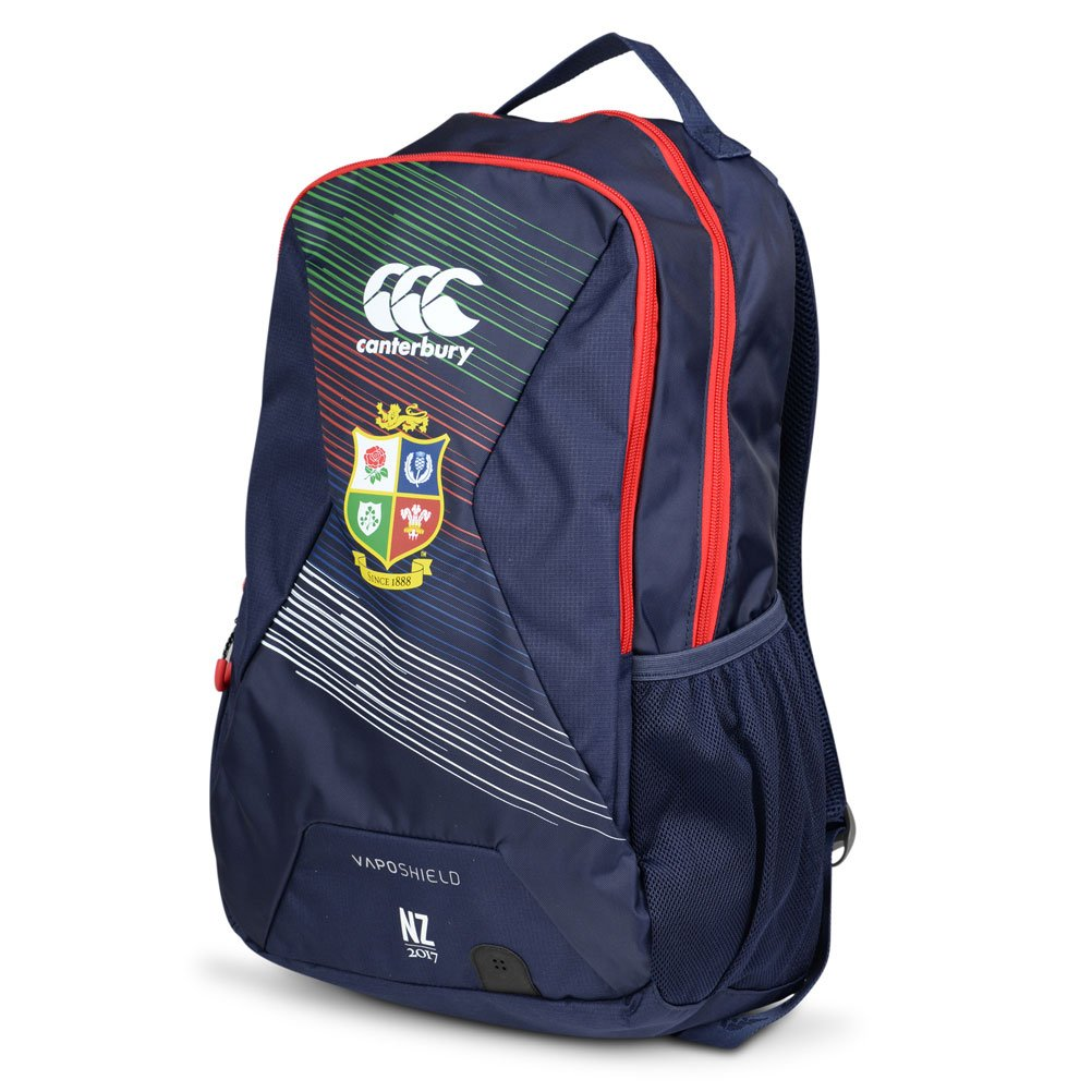 2016-2017 British Irish Lions Rugby Small Backpack (Peacot) B01MFD7MOSNavy One Size