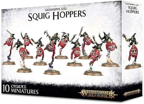 Age of Sigmar gloomspite squig Hopper//boingrot larron Boss Bits