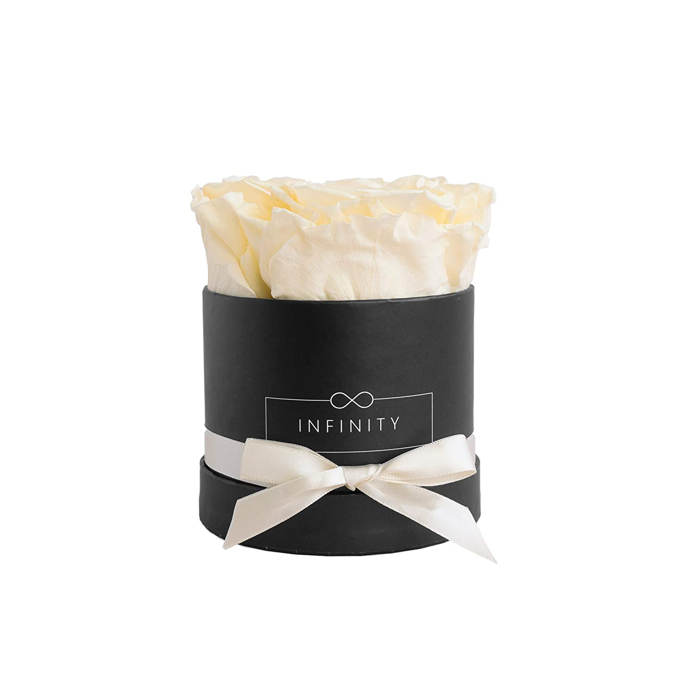 Infinity Flower Box Small Box (Noir) Articles Cadeaux, Carton, Champagne, 10x 10x 10cm Infinity Flowerbox 2-BB-CH