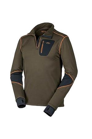 Blaser Jersey Polar Ulrich Hombre Jersey de forro polar marrón, color marrón, tamaño extra-large: Amazon.es: Deportes y aire libre