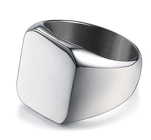Lanyjewelry His Hers Ring Set Womens Princess Cz Black Wedding Mens 7 Czs Two Tone Band Size W6m13