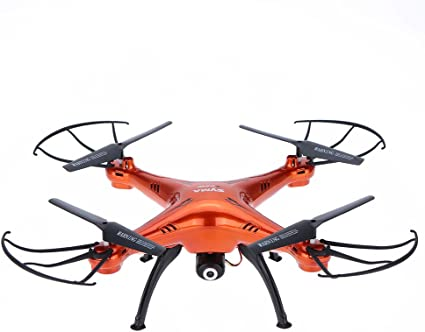 Drone 2 MP camera quadcopter 2.4 GhZ 4 CH headless mode kids Xmas gift drone toy