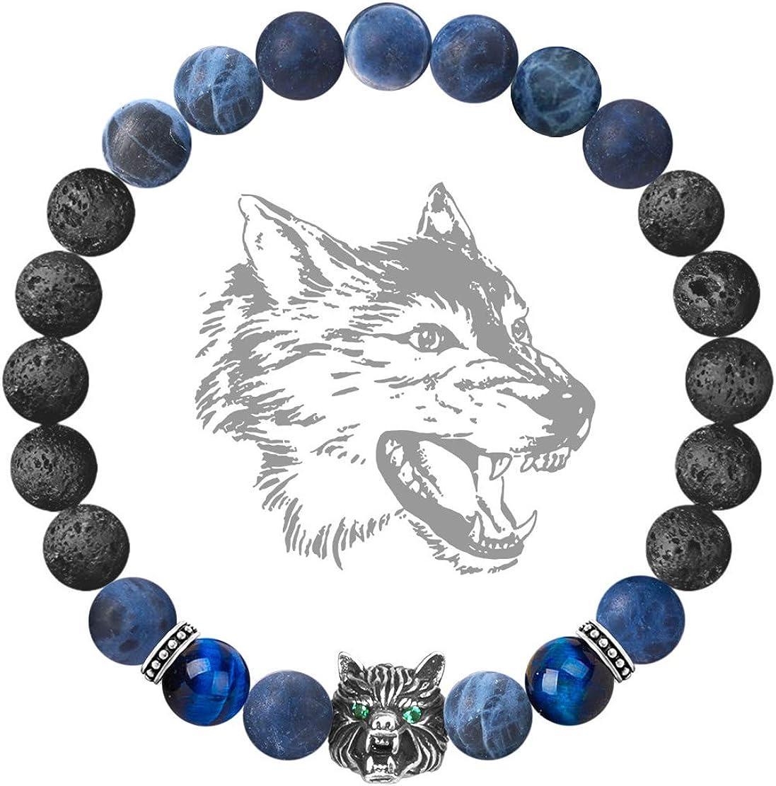 Karseer Viking Wolf Head...