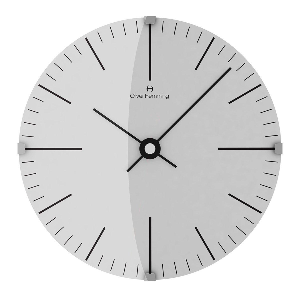 オリバーヘミング 壁掛け時計 イギリスブランド 300mm W300DG8WTB [正規輸入品] B079WV4Z5N