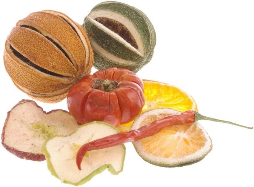 1 VE = 500 g Beutel Deko Potpourri Fr/üchte-Mischung /Ø ca 3-6 cm Mandarinen//Orangenscheiben//Limetten und Limetten Scheiben//Chilischoten//Apfelscheiben//Tomaten 24218