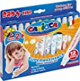 Carioca - Caja de 12 rotuladores Super Baby (42249)