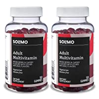 Deals on 2-Pack Amazon Brand Solimo Adult Multivitamin, 300 Gummies